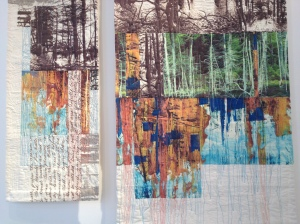 SANDRA MEECH – Digital prints and machine quilting
