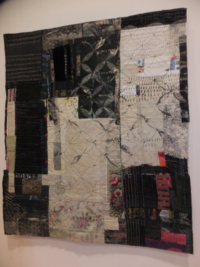 Hazel Bruce - 62 Group. Wonderful textile panels from collage materials.