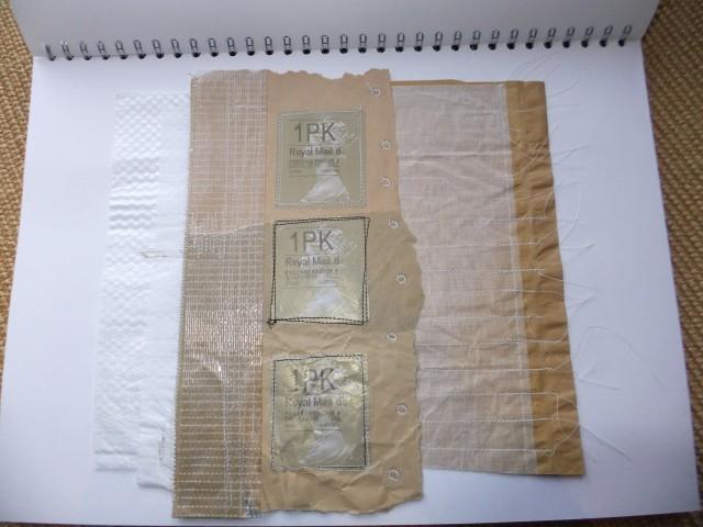 Sample 10 -  brown paper envelope packaging.