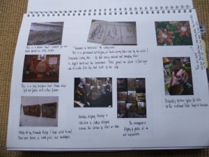 Page 3.  Work in my house by me, work by other artists in public spaces, things for and in my garden.