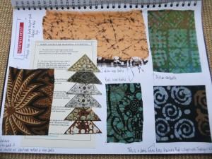 PAGE 6 Batik/wax resist