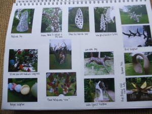 Page 6 - outdoor sculpture exhibition FRESH AIR had lots of natured inspired items.