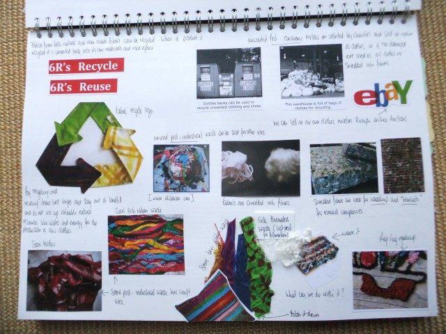 Page 7 - Looking at the 6R's in more detail. Recycle and reuse.
