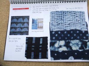 PAGE 7  Other resist techniques - Shibori and paste etc