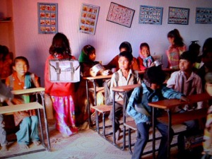 This is the school they support through Fair Trade premiums