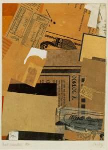 "Kurt Schwitters ""Oorlog"" 1930 Paper montage  Photosource - http://www.wikipaintings.org"