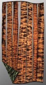 SHIBORI - REVERSE WITH DISCHARGE REGINNA BENSON - http://www.reginabenson.com/installations.html