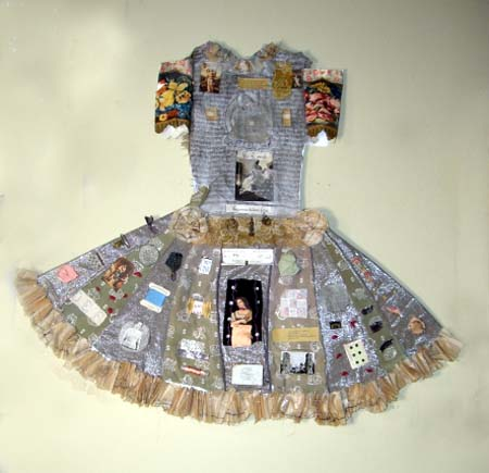 Roman Party Dress - Janet Cooper.  Photosource - Janetcooperdesigns.com