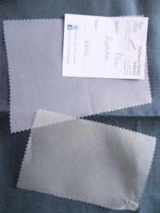 silk organza samples