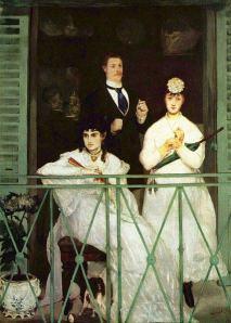 Edouard Manet 1868 - The Balcony