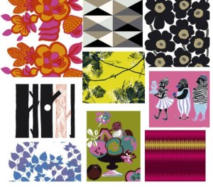 Marimekko designs 2010. Ref - http://desertfashion.blogspot.co.uk