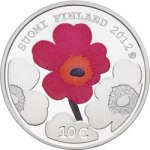 NEW IDEAS - Mint of Finland is issued commemorative coin for Armi Ratia, the founder of Marimekko in June 2012 featuring the unikko (poppy) icon.