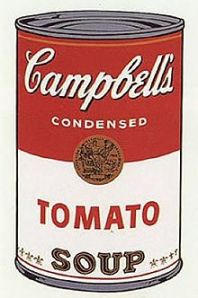 Andy Warhol Campbell's Soup 1 1968