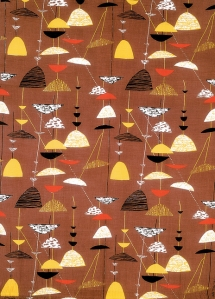 Lucienne Day Calyx design for textiles – Festival of Britian 1951