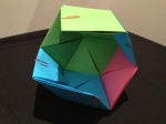 Rhombic Dodecahedron – well most of it as it was very time consuming!