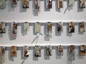 SUE BROWN  - Enamel tags that have been screen printed, digital transfers and laser etched.
