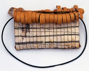 Mary Butcher  - constructed bag from found materials.