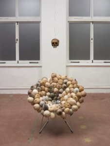 SARAH LUCAS Untitled (Tit Chair) – 2012