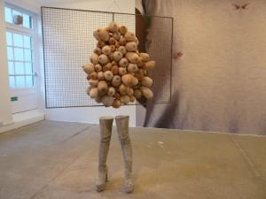 """SARAH LUCAS  """" Viz. Nice Tits """" -  2011"""