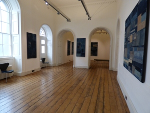 One of the rooms at Somerset House exhibiting the Boro works