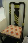 EMAMOKE UKELEGHE digitla print used to upcycle chairs