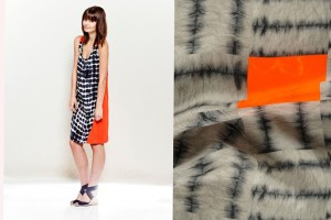 JOANNA FOWLES  hand crafted shibori is manipulated with comptute software and made into items of clothing