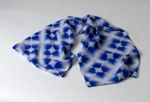 MELANIE BOWLES digitally printed shibori designs.