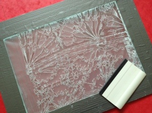 Made into a Thermofax screen