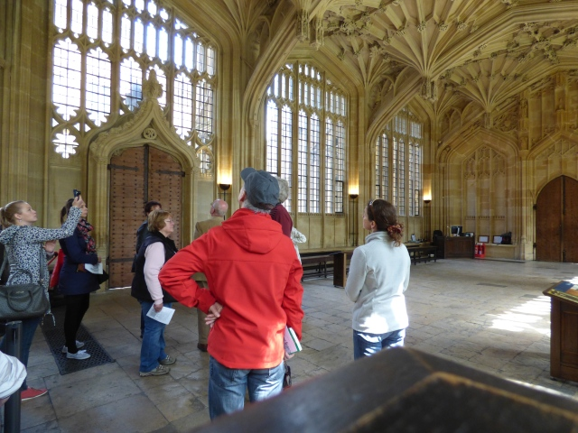 """Photo 1 taken as research - visitors are looking at the building but I will """"fake"""" them looking at the work."""